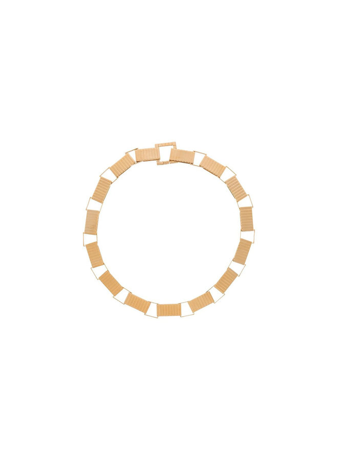 Signora Chain Collar Necklace in Gold