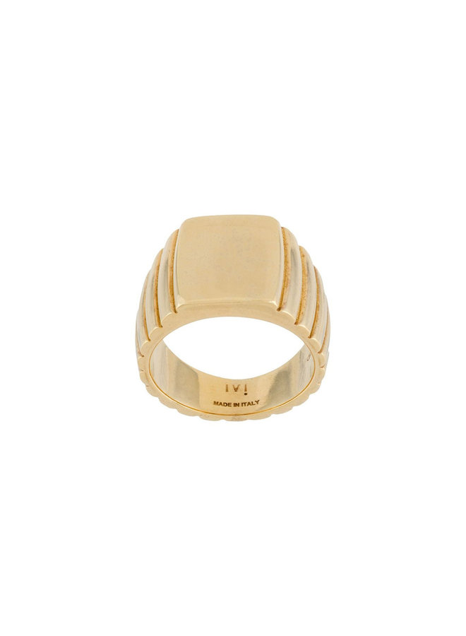 Signore Rectangular Signet Ring