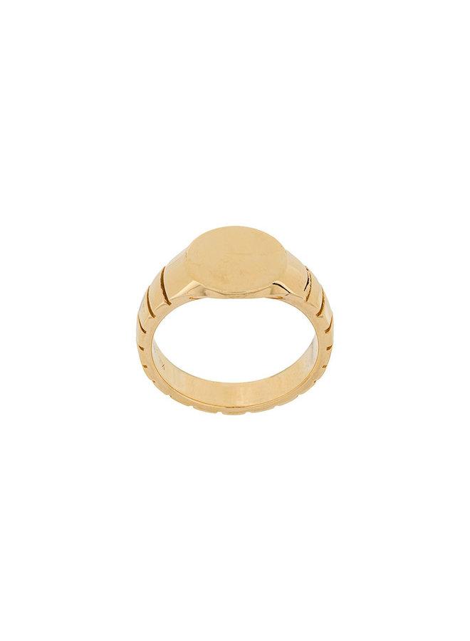 Signore Round Signet Ring