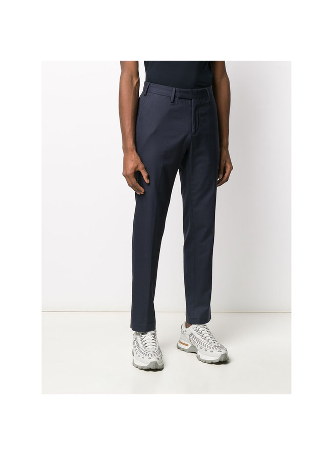 Cool Soft Cotton Pant In Navy