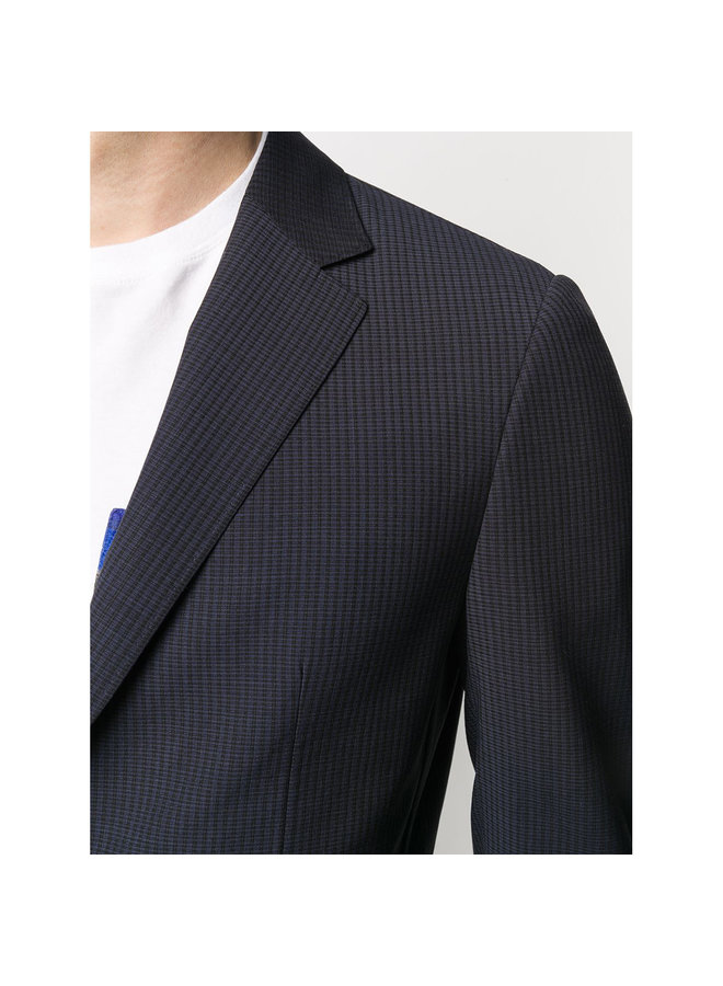 Techmerino Wash & Go Jacket in Blue