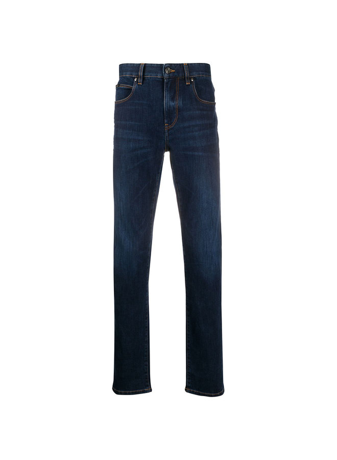 Slim Fit Supersoft Denim Jeans in Blue