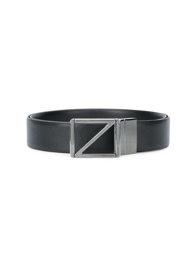 Reversible Belt In Black
