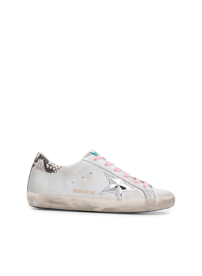Superstar Sneakers In White with 3D Star