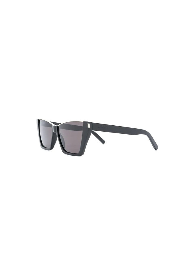 Kate D-Frame Sunglasses in Black