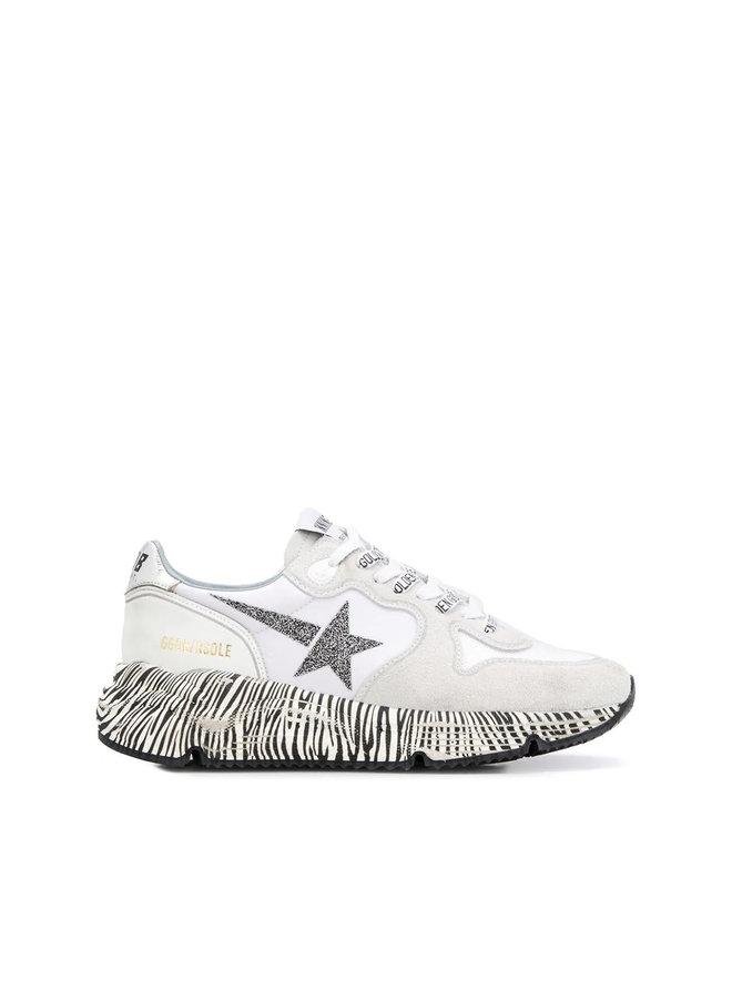 Running Sole Sneakers in Suede