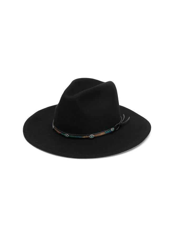 Jessie Western Denver Hat In Black