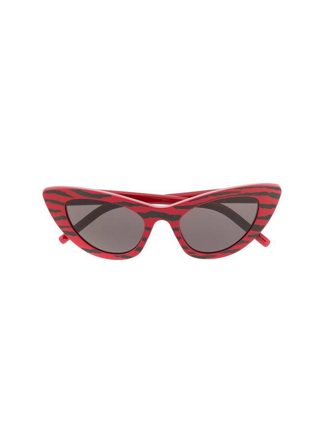 Sunglasses Cat Eye, Sl 213 Zebra Sng