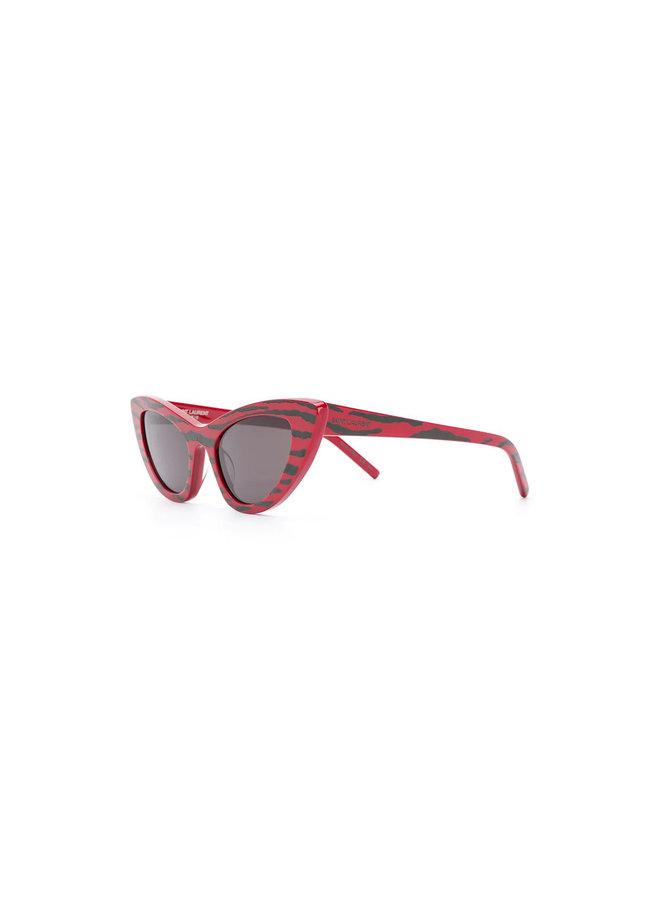 Saint Laurent Sunglasses Cat Eye, Sl 213 Zebra Sng