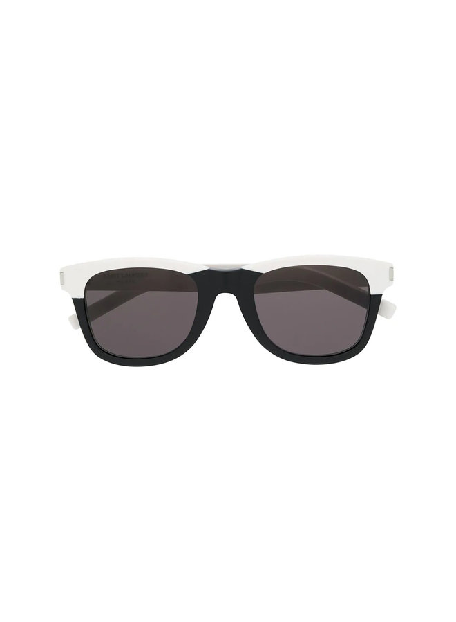 Saint Laurent D-Frame Sunglasses, Classic 51, Blk/White