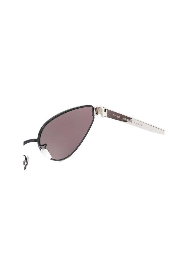 Saint Laurent Cat Eye Sunglasses, SI M51, Metal, Black
