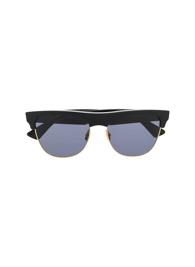 Bottega Veneta Cat Eye Sunglasses, In Black