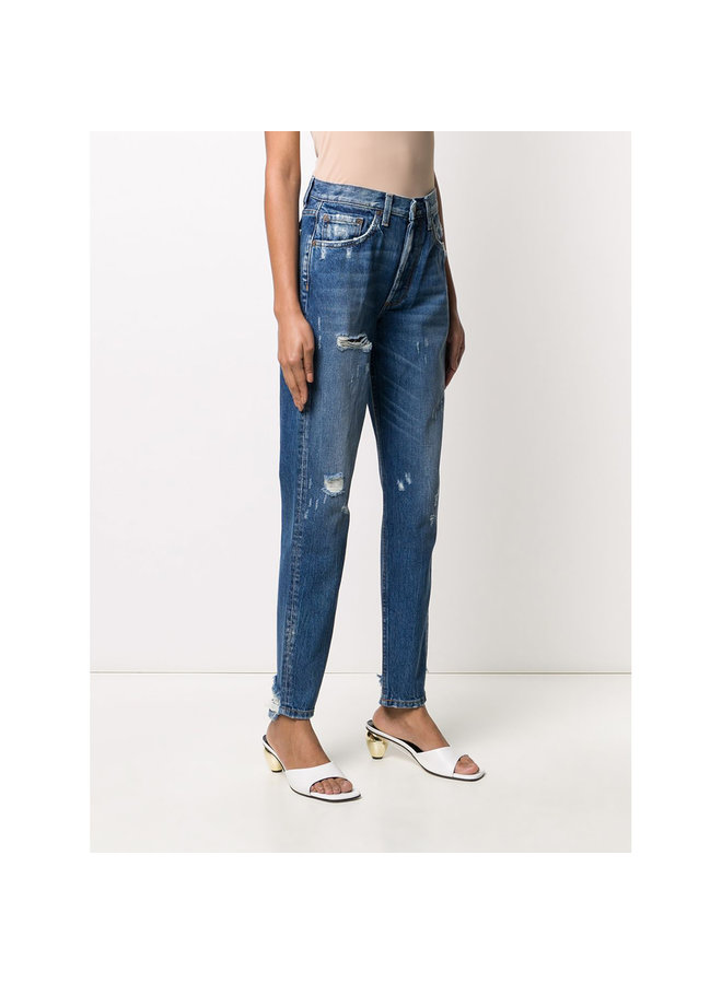 Billy High Rise Skinny Jeans in Blue Wash