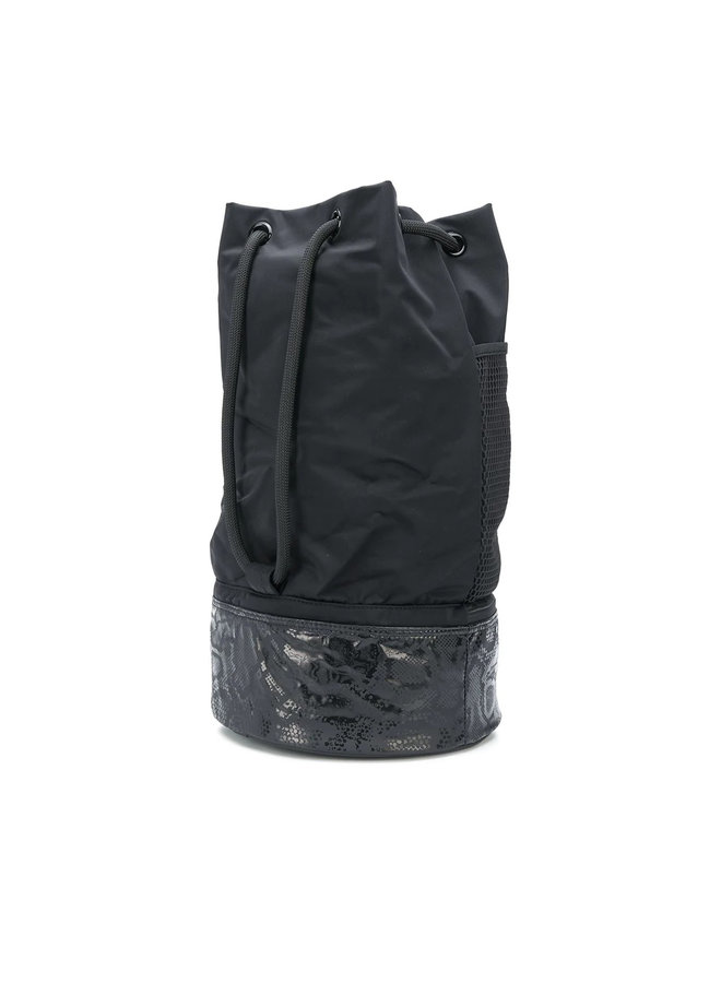 Boxing Gymsack Backpack in Black