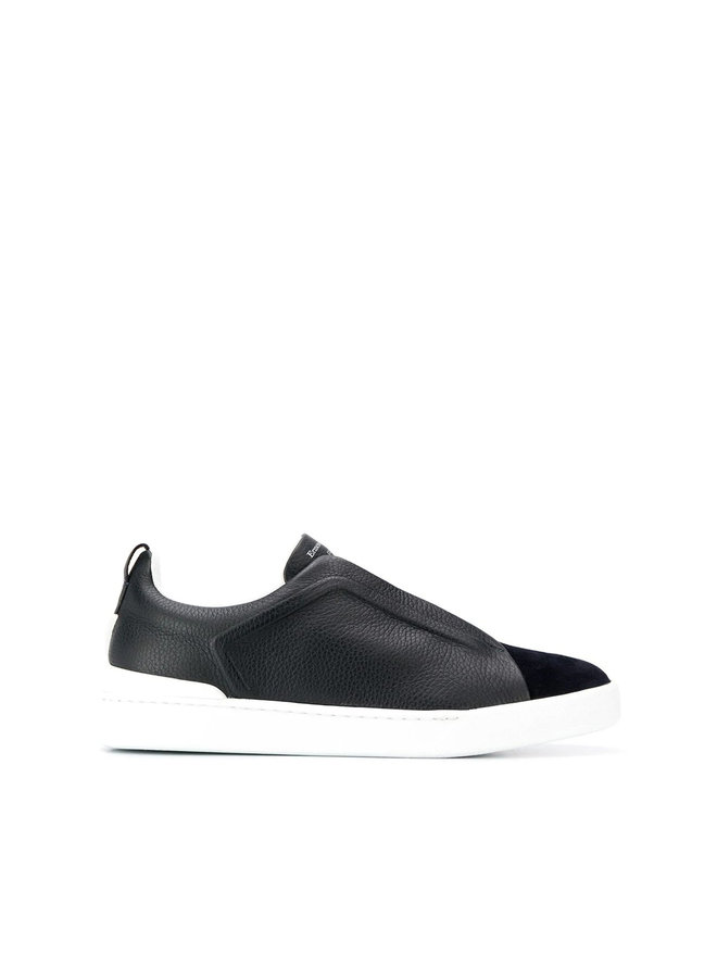 Zegna Couture Triple Stitch Sneakers in Leather