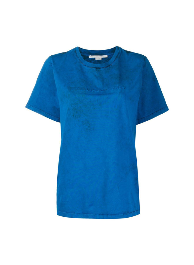 Embossed Logo T-Shirt in Jersey