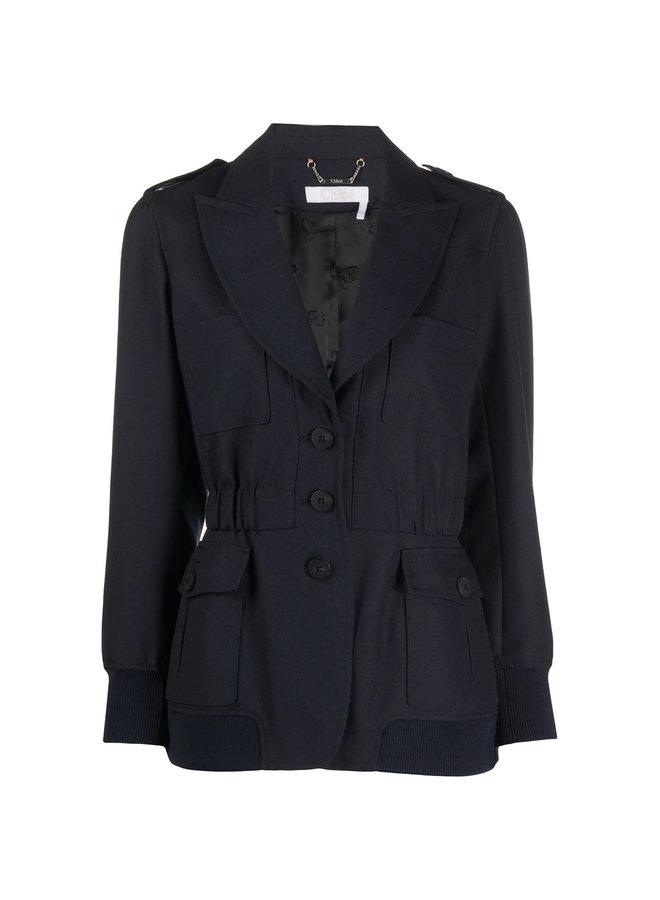 Outwear Jacket in Tailoring Wool