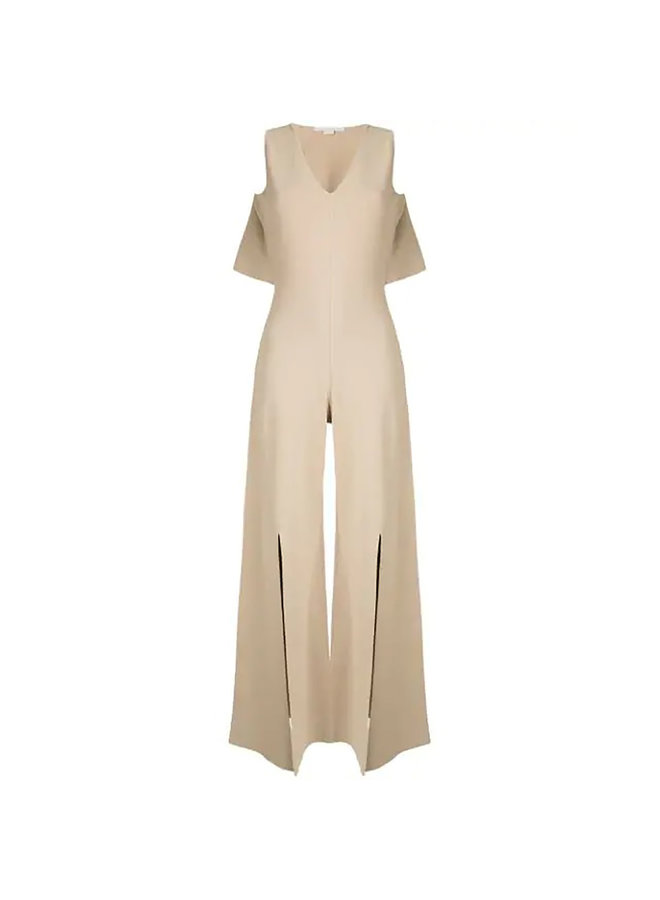 Full Length Jumpsuit in Compact Knit