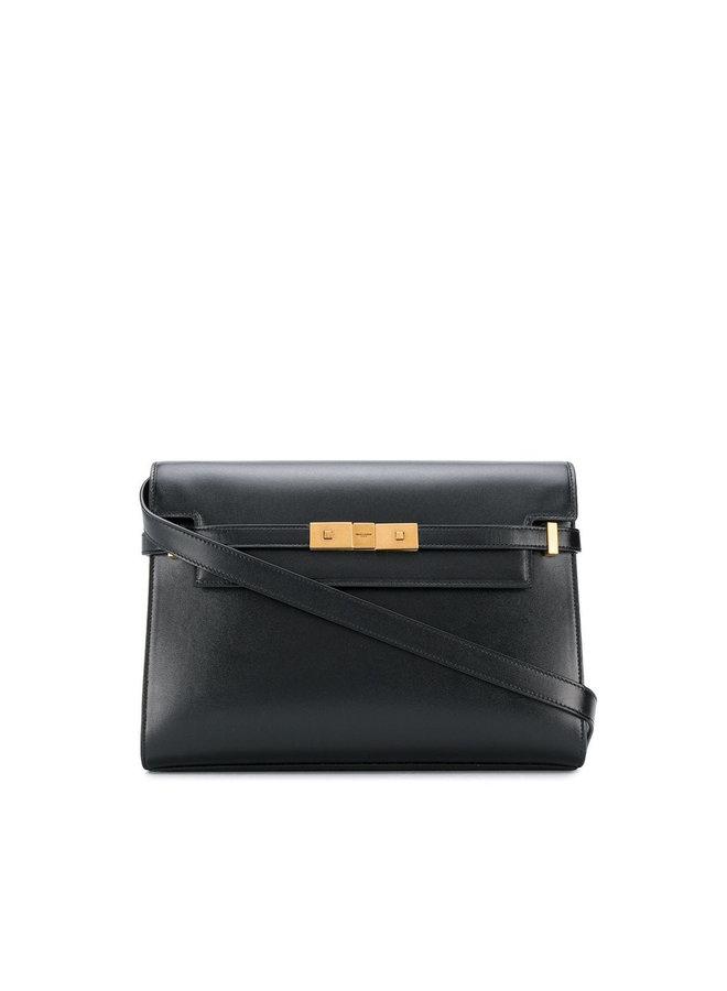 Manhattan Shoulder Bag in Leather