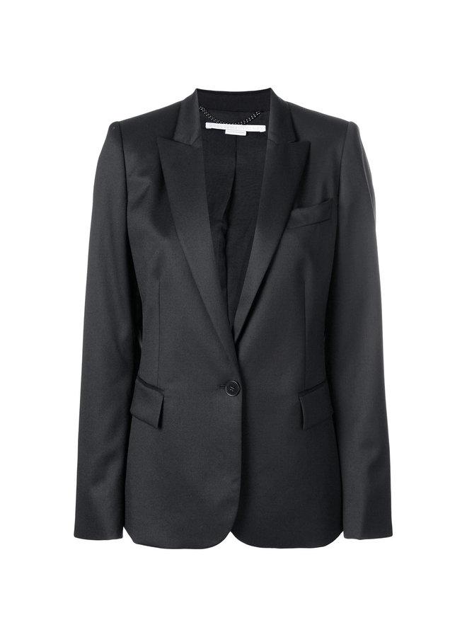 Tailored Blazer Jacket in Wool