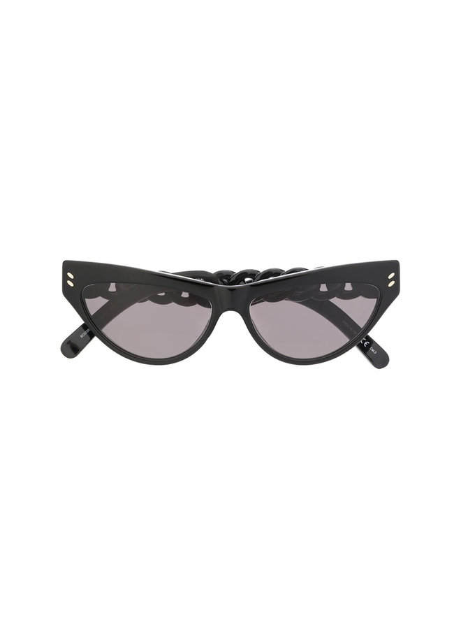 Cat Eye Frame Sunglasses in Acetate