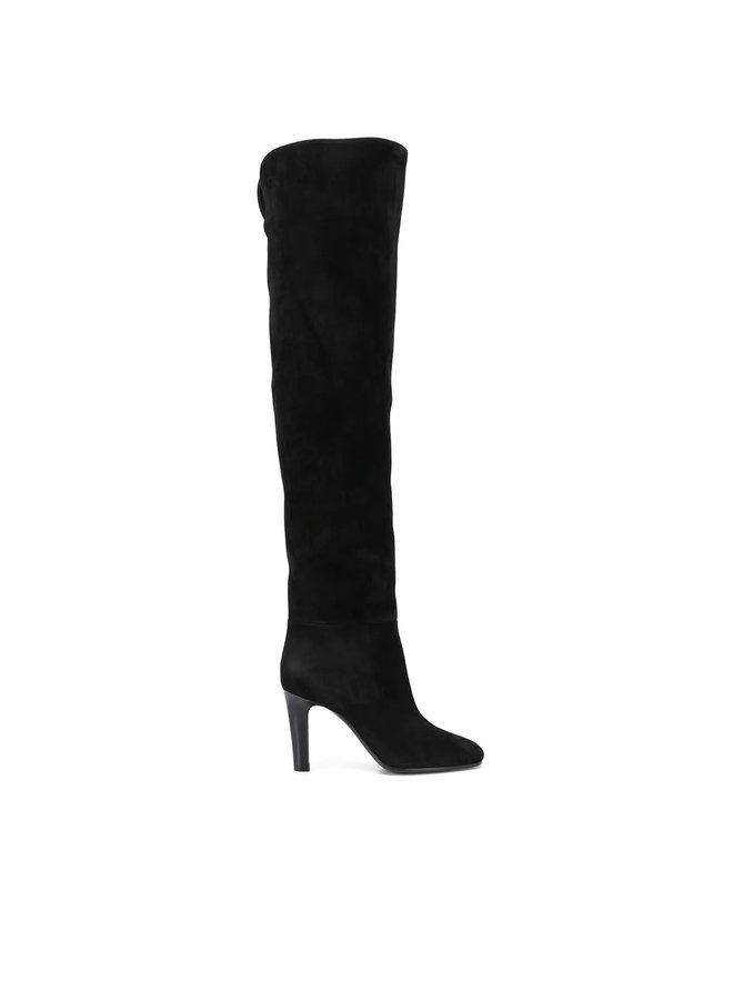 Jane High Heel Boots in Suede