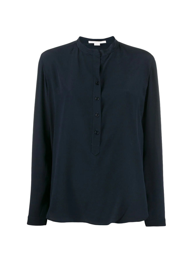 Eva Classic Long Sleeve Shirt in Silk