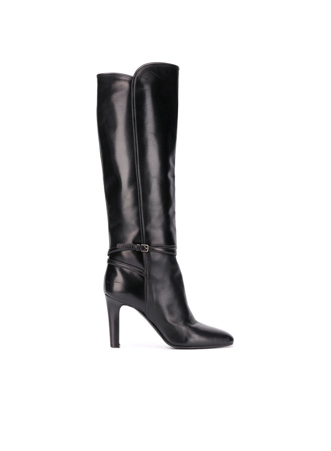Knee-Length Boots in Leather