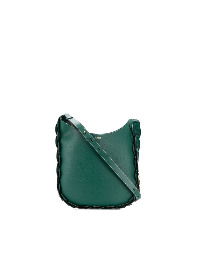 Darryl Shoulder Bag in Leather