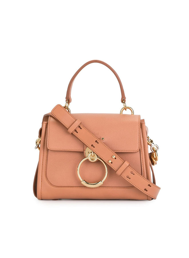 Small Tess Day Crossbody Bag in Leather