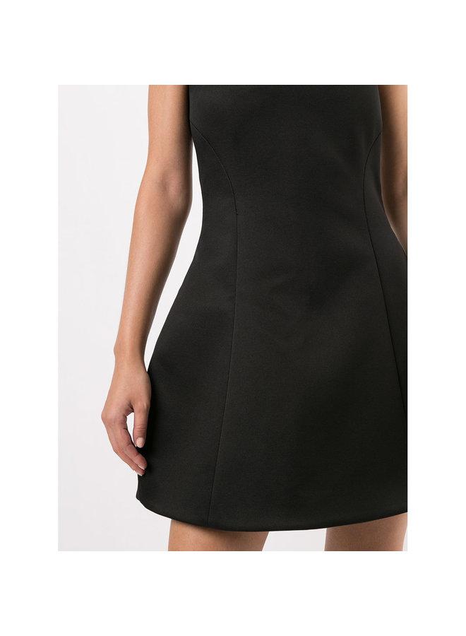 Strapless Mini Dress in Black