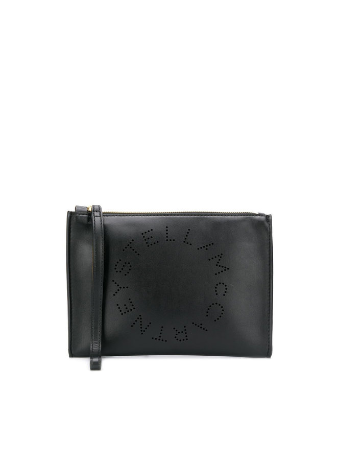Stella Logo Clutch Bag