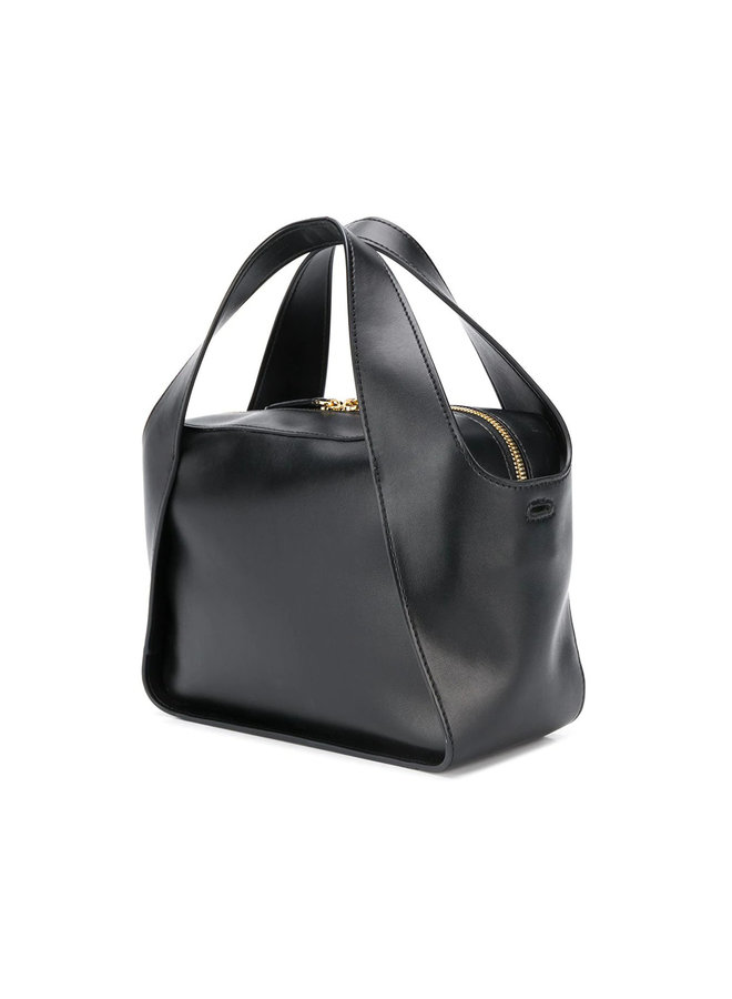Stella Logo Cross-body Tote Bag in Black