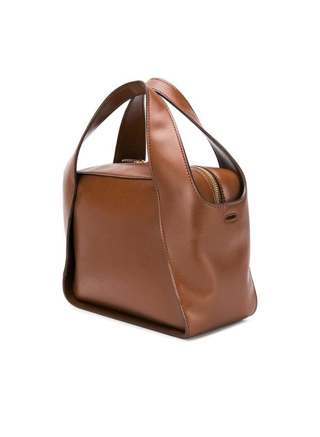 Stella Logo Cross-body Tote Bag in Cinnamon