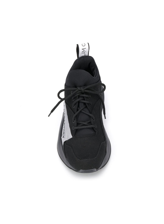 Eclypse Lace-up Sneakers in Black/White