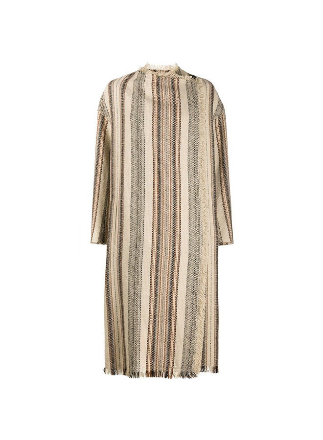 Long Stripped Coat