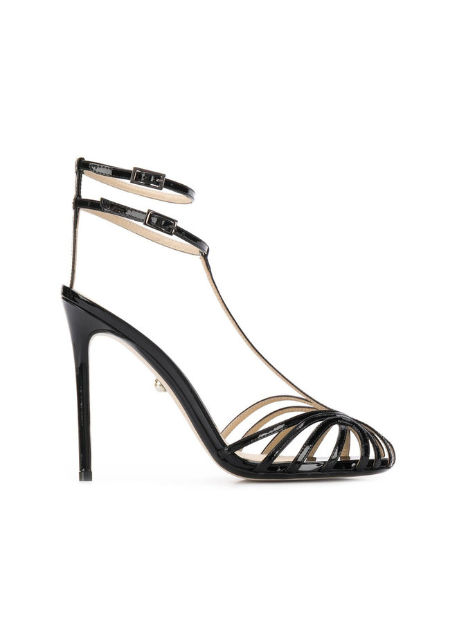 Stella High Heel Sandals in Patent Leather
