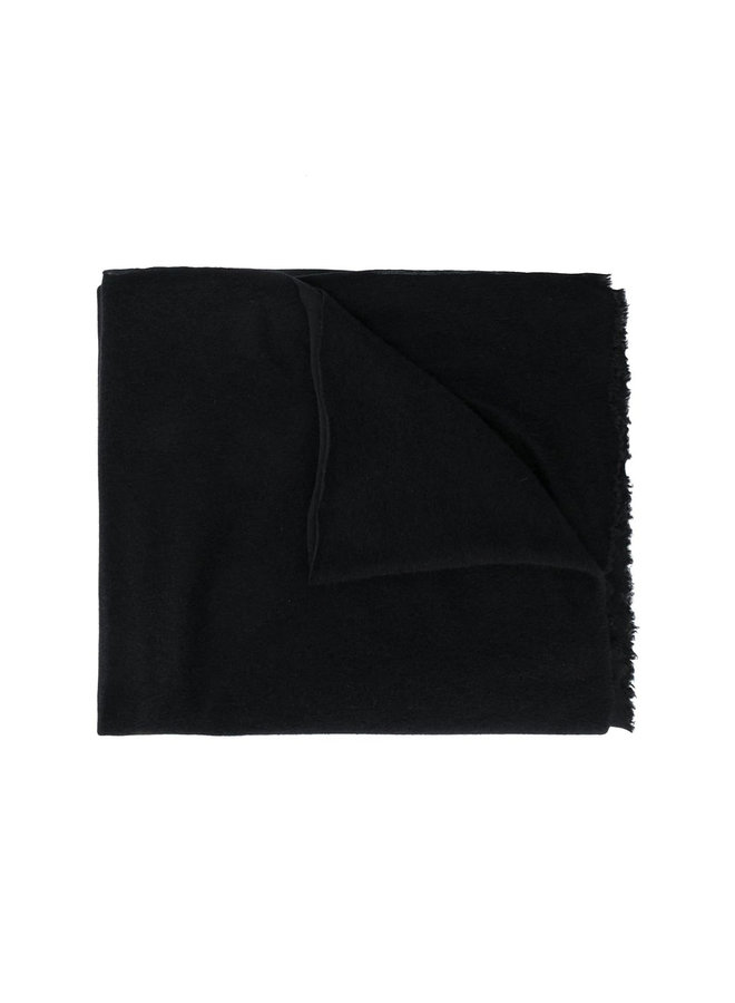 Scarf in Cashmere in Black