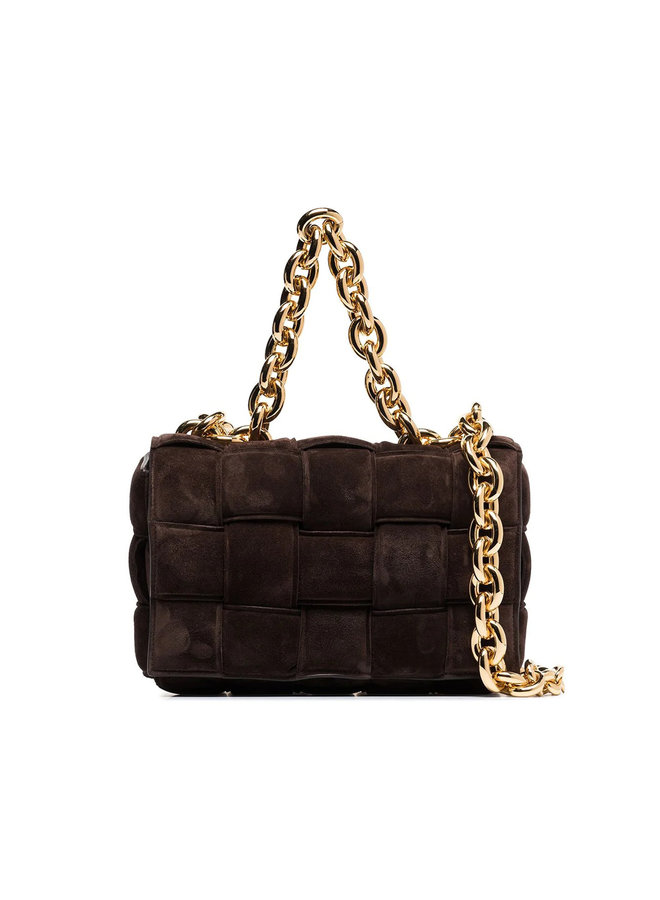 Casette Chain Padded Shoulder Bag