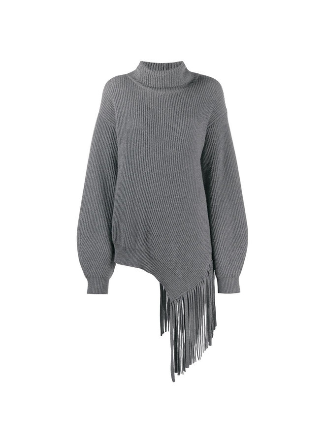 Knitwear Jumper with Fringes