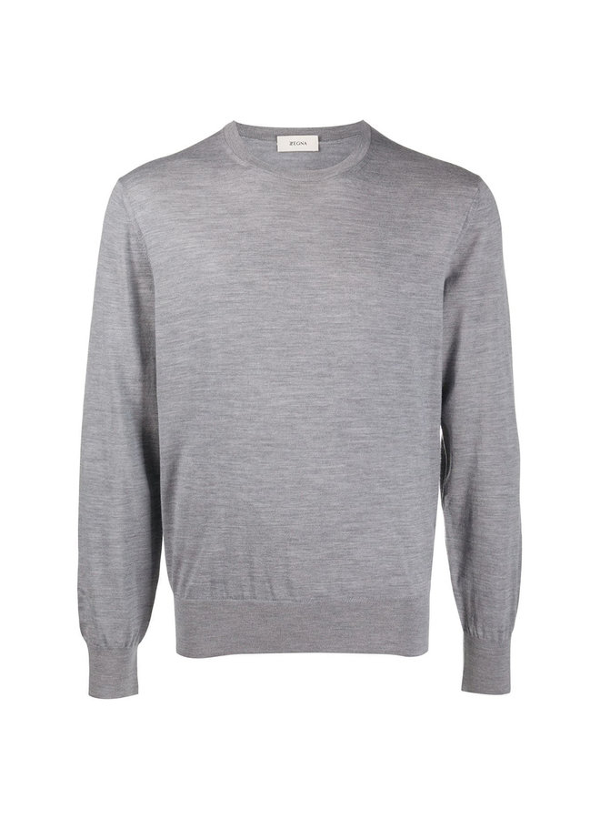 Crew Neck Knitwear Sweater
