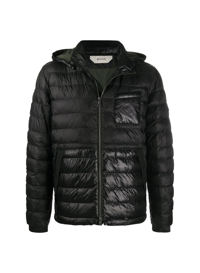 Hooded Padded Outwear Jacket