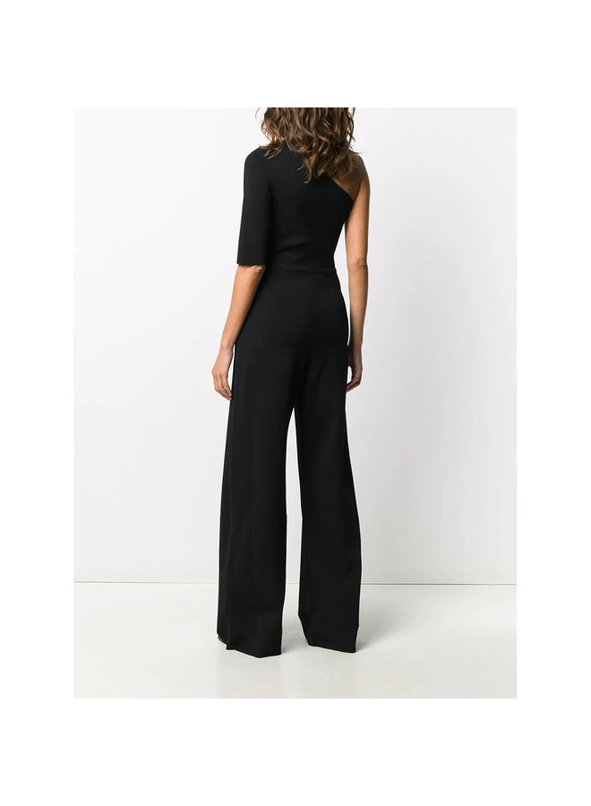 One Shoulder Jumpsuit in Black