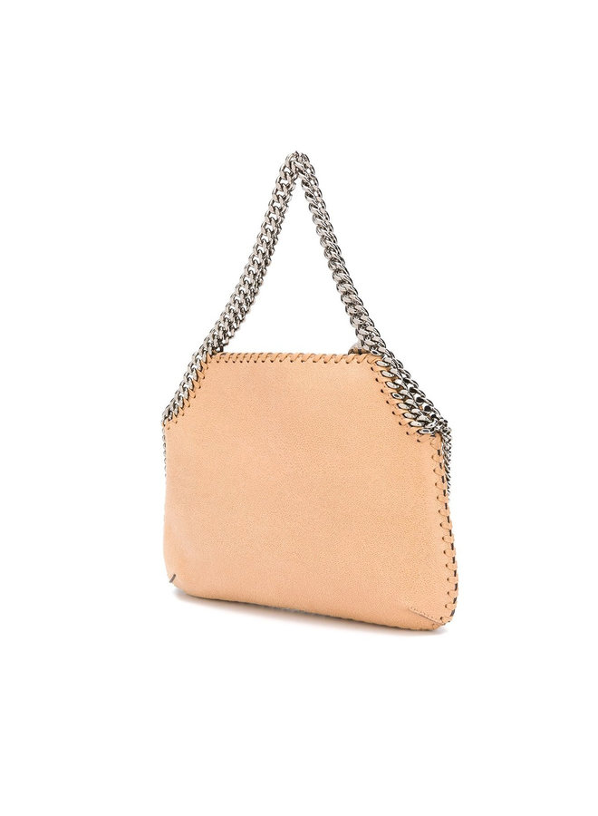 Medium 3 Chain Falabella Shoulder Bag in Camel