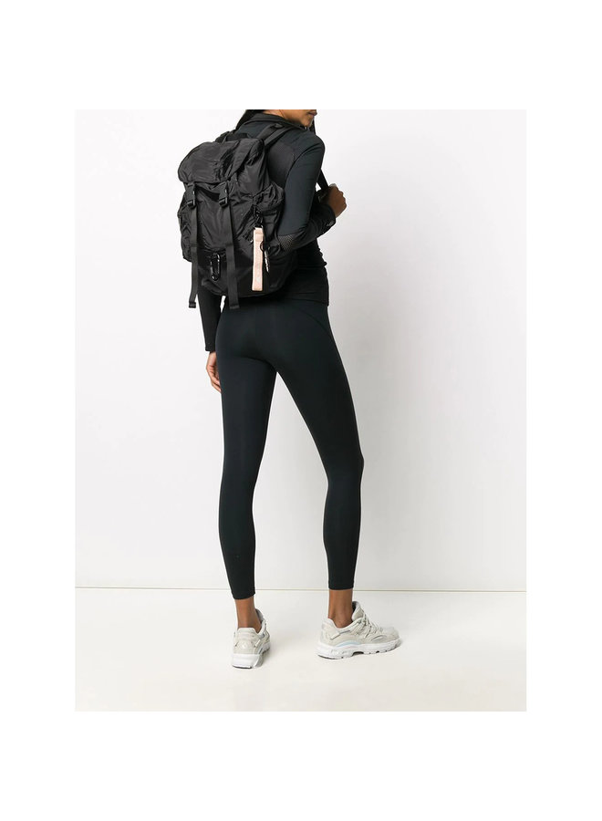 Backpack in Nylon in Black