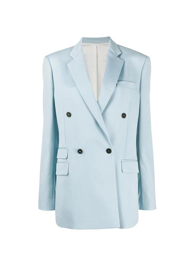 Oversized Double Breasted Blazer Jacket