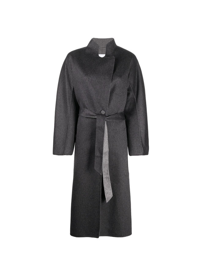 Belted Double Cashmere Coat