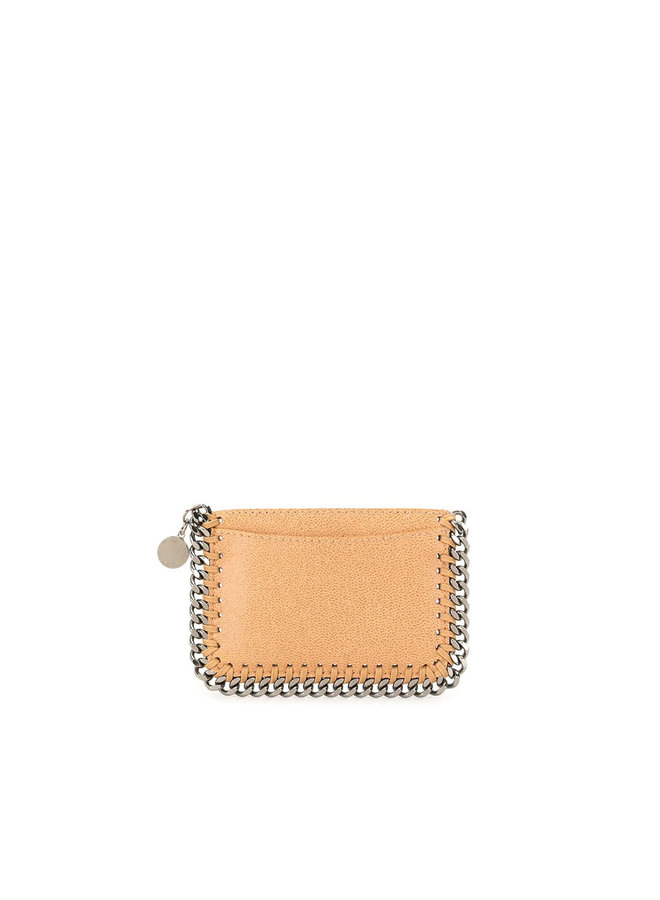Falabella Card Case in Fawn