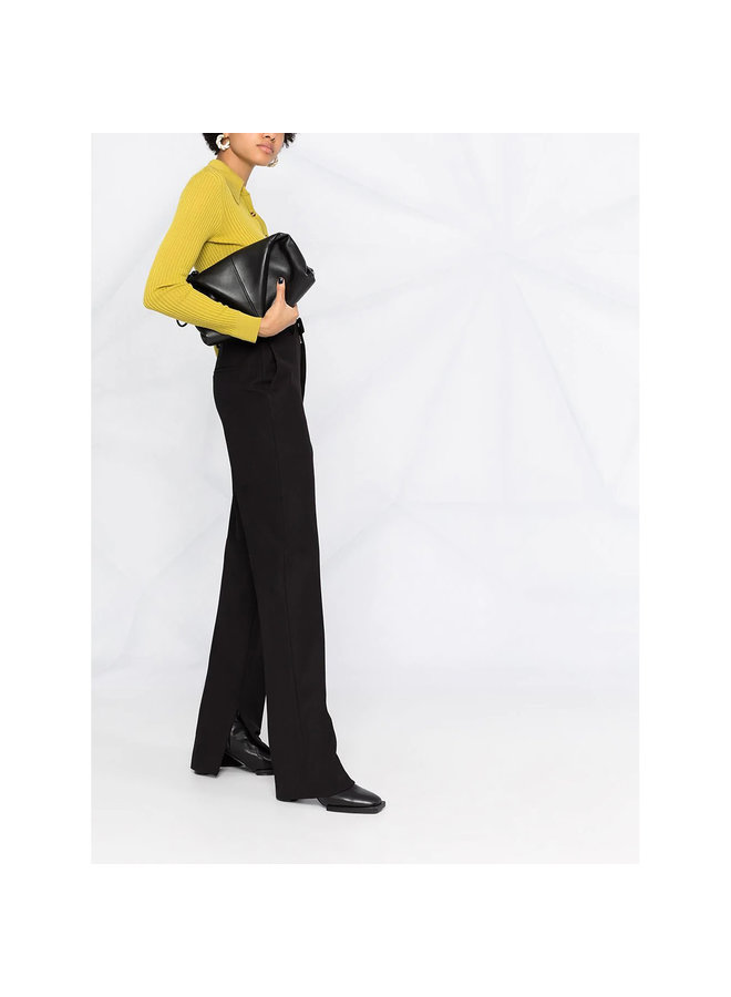 High Waisted Skinny Pants in Black