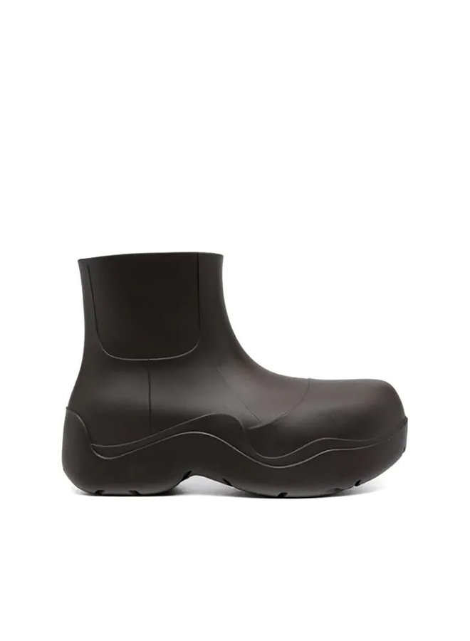 Puddle Boots in PVC in Fondente